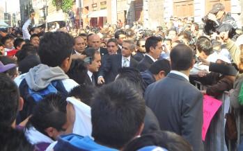 FOTO GALERÍA DE TOMA DE PROTESTA MANCERA