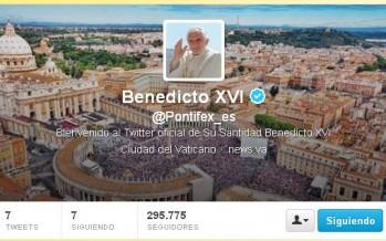 PRIMER TWITTER DE SU SANTIDAD BENEDICTO XVI