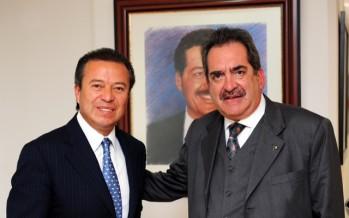 CESAR CAMACHO CON EL GOBERNADOR DE AGUASCALIENTES