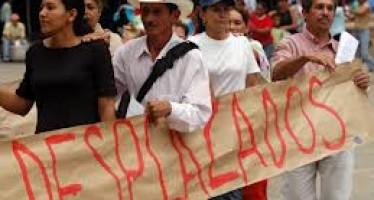AUMENTARON DESPLAZAMIENTOS EN COLOMBIA PESE A ALTO EL FUEGO DE LAS FARC