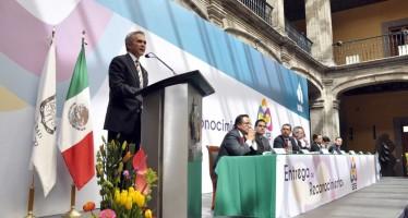 SEGUIRÁ CIUDAD DE MÉXICO SIENDO LA CAPITAL DE TRANSPARENCIA Y EQUILIBRIO: MANCERA