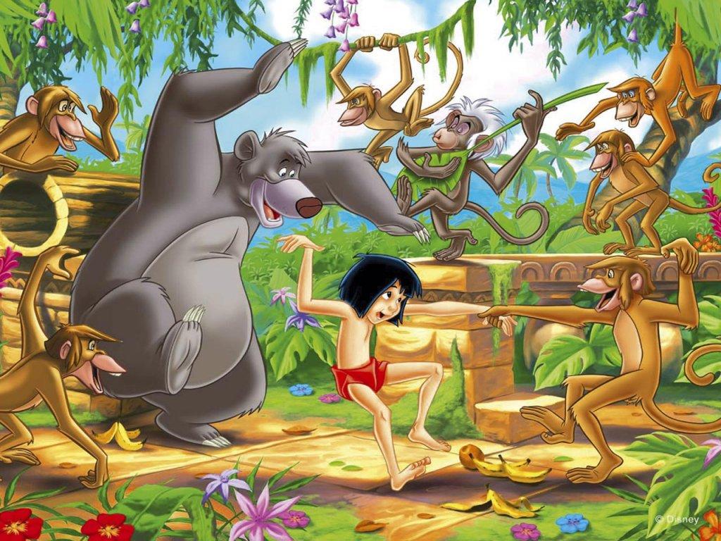 el libro de la selva de disney: