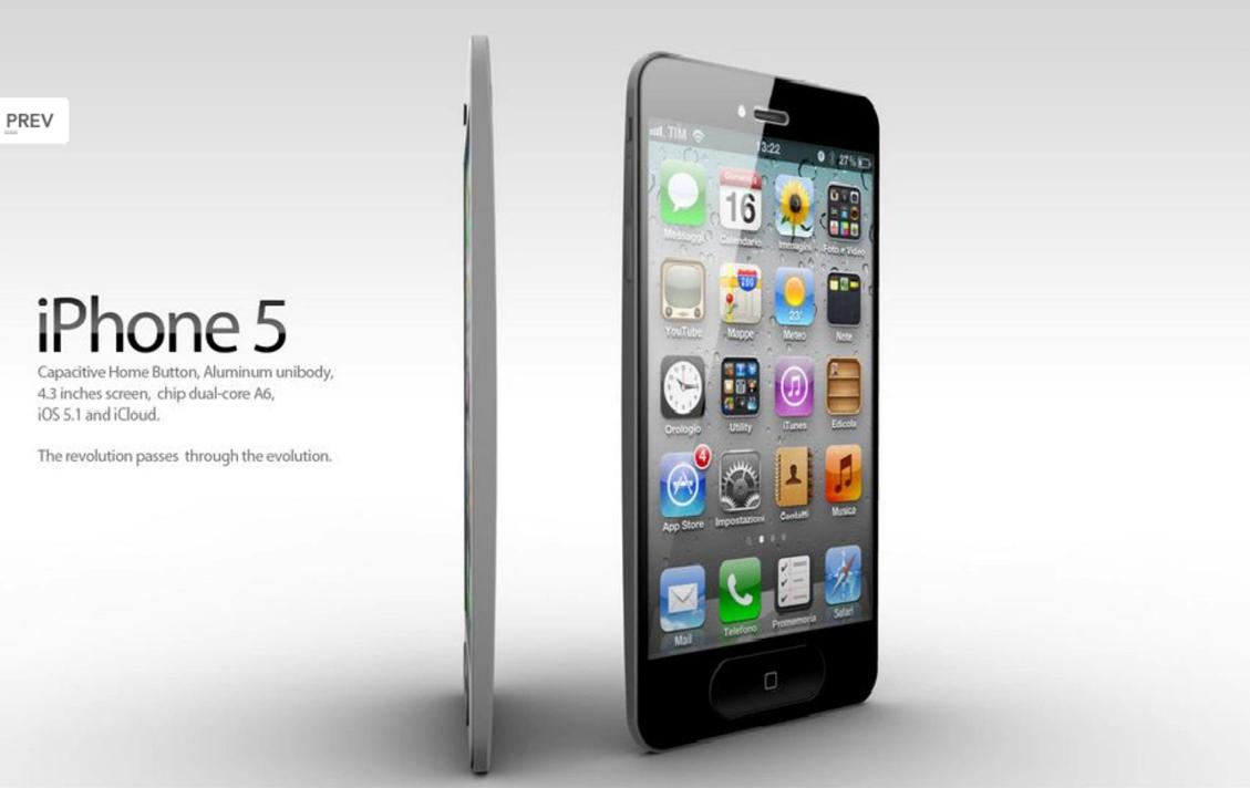 El lanzamiento del iPhone 5 será en septiembre, según AT&T ...