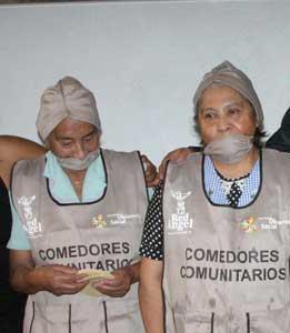 reforzar n programa de comedores comunitarios en el df