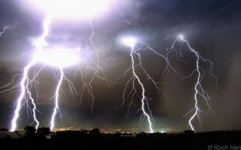 Lluvias de diferente intensidad en 28 estados del país