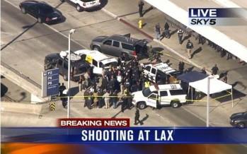 Causa pánico tiroteo en el aeropuerto de Los Angeles