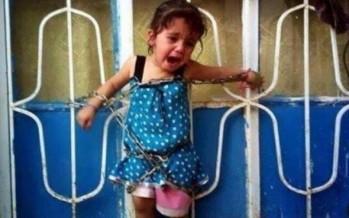 Niña siria es encadenada y obligada a ver como asesinan a sus padres. Luego es asesinada.