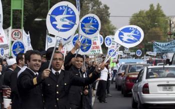 Comunicado de trabajadores de Mexicana, desesperados por su situación
