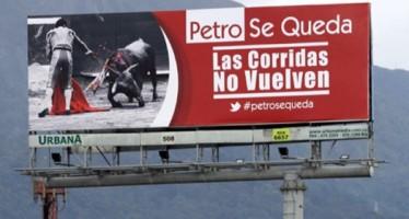 Es destituído alcalde que había prohibido corridas de toros y circos con animales en Bogotá.