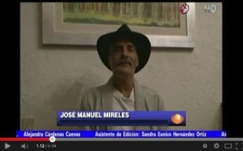 Acusan a Televisa de manipular el video de Mireles donde pide a autodefensas dejar las armas.