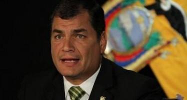 Correa quiere reducir número de militares de la Embajada de EEUU en Ecuador