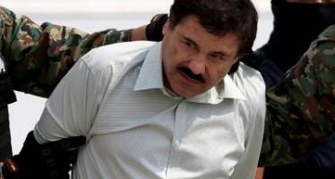 Así luce ahora El Chapo. Imagen de su captura.