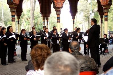 Coro de la ciudad de Mexico 1