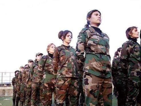 Mujeres-en-el-ejercito-sirio