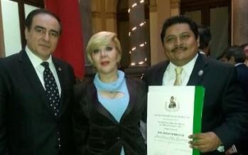 Reconoce el Club de Periodistas de México AC al rector de la UNACAR