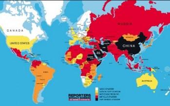 Clasificación mundial de la libertad de prensa 2014 de Reporteros Sin Fronteras