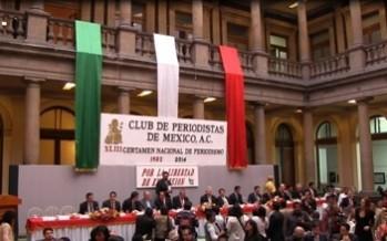 Galardonados en el XLIII Certámen Nacional e Internacional de Periodismo