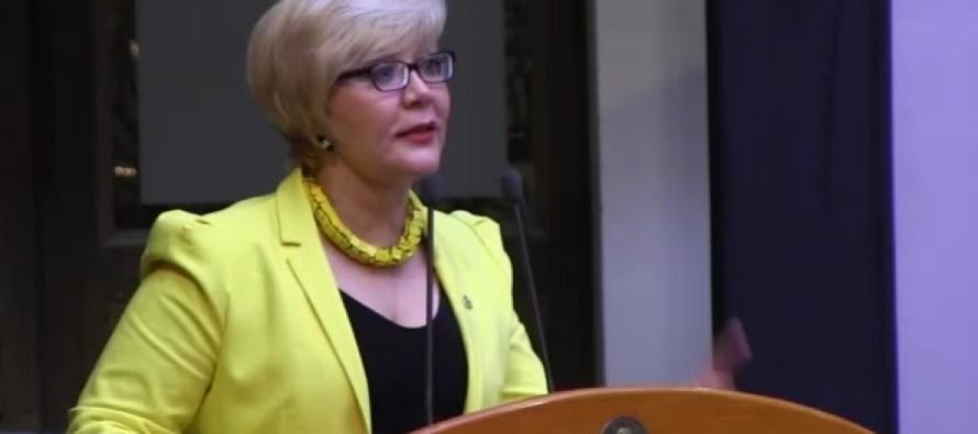 VIDEO Discurso de Celeste Sáenz de Miera durante el XLIII Certámen Nacional e Internacional de Periodismo.