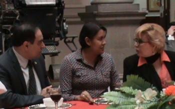 VIDEO Club de Periodistas recibe a la Dra. Perla Gómez Gallardo, presidenta del CDHDF