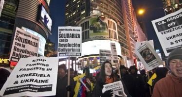 Marchan sindicatos bolivianos en apoyo a Maduro en Venezuela