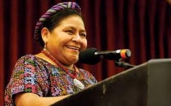 Rector de la Universidad de Chapingo impide el paso a Rigoberta Menchù