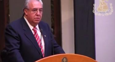 VIDEO Discurso de Don Roberto Calleja Ortega durante el XLIII Certámen Nacional e Internacional de Periodismo