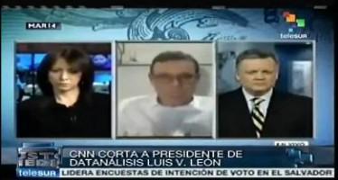"VIDEO CNN ""corta"" a especialista por ofrecer datos a favor de Nicolás Maduro"