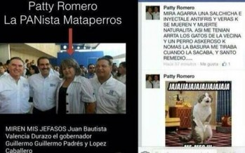 Lady Salchicha o la Panista Mataperros.