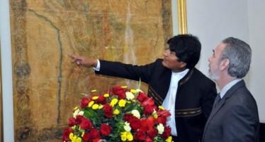 Evo Morales ratifica demanda marítima de Bolivia ante Chile