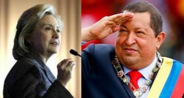 """Hillary Clinton describe a Chávez como un """"dictador autoengrandecido"""""""