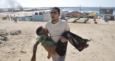 Barcos israelíes matan a 4 niños que jugaban al fútbol en una playa de Gaza