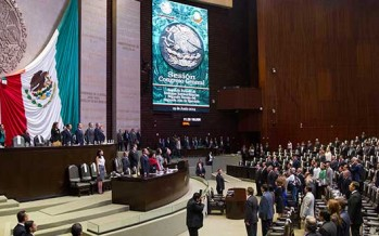 Cámara de Diputados, lista para recibir Segundo Informe de Gobierno
