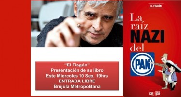 """El Fisgón presenta su libro """"La raíz Nazi del PAN"""""""