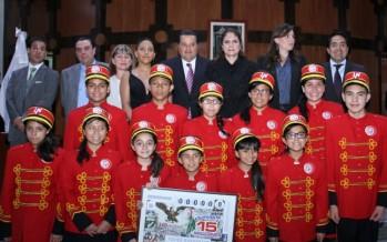 Conmemoran Lotenal y Segob 160 aniversario del Himno Nacional Mexicano