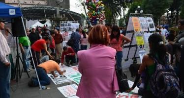 Empleados Radio y Televisión michoacana demandan pago de salarios