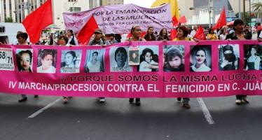 Impide EMP plantón de madres de Ciudad Juárez frente a Los Pinos