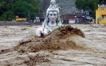 La inundación más mortífera de los últimos 50 años: 350 municipios inundados en la India