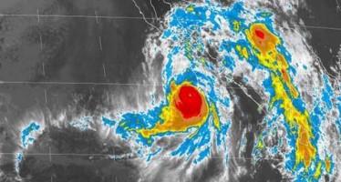 Mantienen zona de alerta en BCS por huracán Norbert categoría III