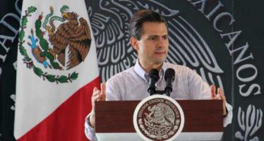 Reformas ya impulsan crecimiento del país, subraya Peña Nieto