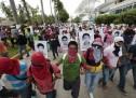 Otra marcha en Acapulco para exigir aparición con vida de normalistas