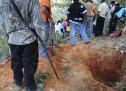 Localizan al menos 40 fosas clandestinas en Iguala