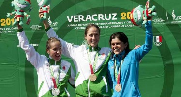 Lluvia de medallas tricolor en Juegos Centroamericanos