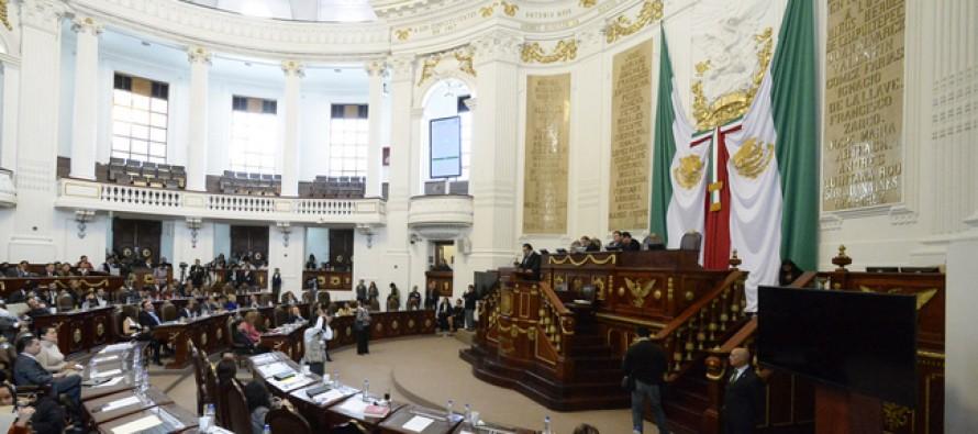 Aprueba ALDF incremento de 8.5% al presupuesto de 2015