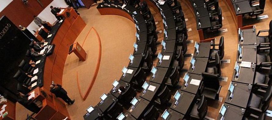 Revientan quórum en el Senado; dejan pendiente reforma del DF