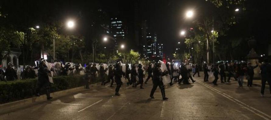 Reprueba Artículo 19 operativo policiaco tras marcha #1DicMX