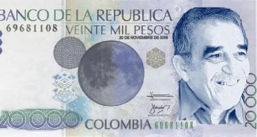 Colombia emitirá billete con imagen de Gabriel García Márquez