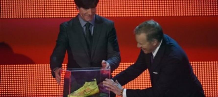 Por dos millones de euros subastan botín del gol decisivo de Brasil 2014