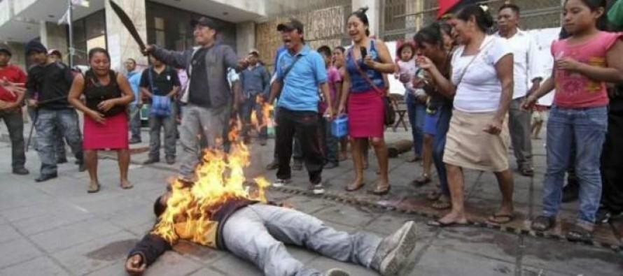 Operan en la Ciudad de México a campesino inmolado frente a Congreso de Chiapas