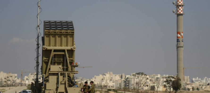 Israel prueba sistema de antimisiles Arrow 3