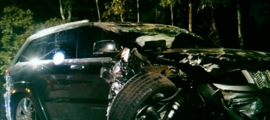 Ileso jefe delegacional de Iztapalapa tras accidente automovilístico